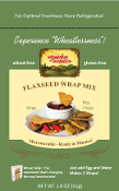 Flaxseed Wrap - 3-pack (Totals 6 wraps)