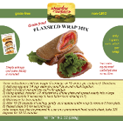 Flaxseed Wrap Mix - 9.2 oz bag